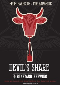 Boneyard Brewing Devil's Share